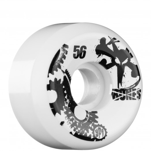 BONES WHEELS SPF Gear Head 56mm (4 pack)