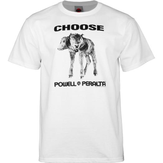 "Powell Peralta ""Choose"" T-shirt  - White"