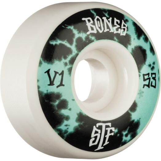 BONES WHEELS STF Deep Dye Skateboard Wheels V1 53mm 103a 4pk