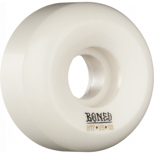BONES WHEELS STF Blanks Skateboard Wheels 53mm 103a 4pk V5 Sidecut
