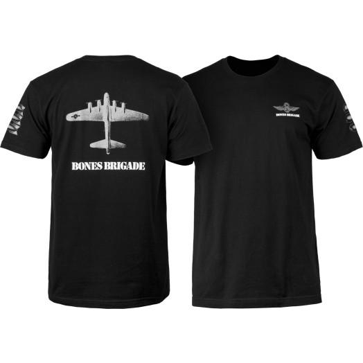Bones Brigade Bomber T-shirt Black
