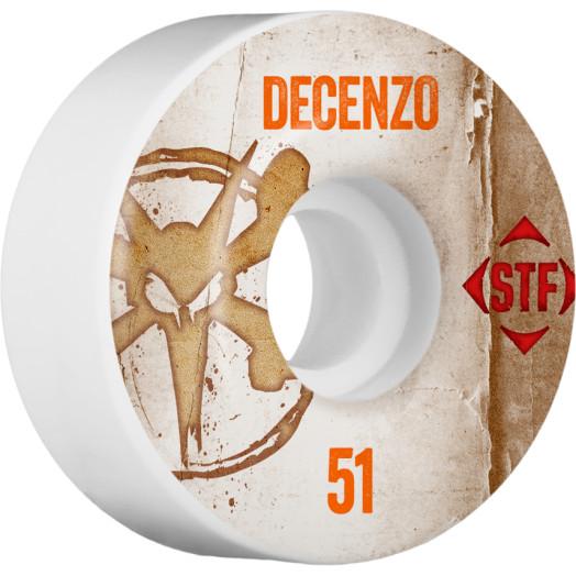 BONES WHEELS STF Pro Decenzo Team Vintage Wheel 51mm 4pk