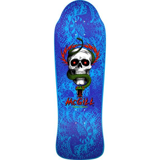 Bones Brigade® Mike McGill 10th Series Reissue Skateboard Deck Blue - 9.94 X 30.43