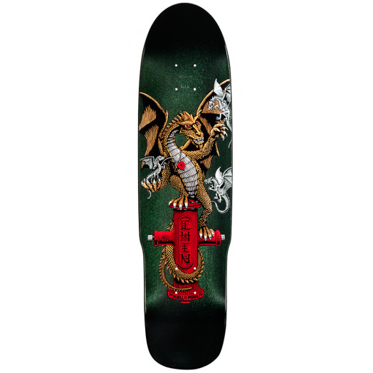 Powell Peralta Hydrant Dragon 2 Skateboard Deck - 8.5 x 32.875