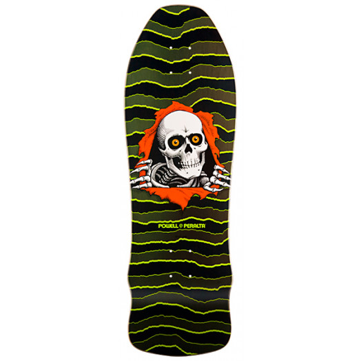 Powell Peralta Ripper Limited Edition Skateboard Deck - 9.75 x 30