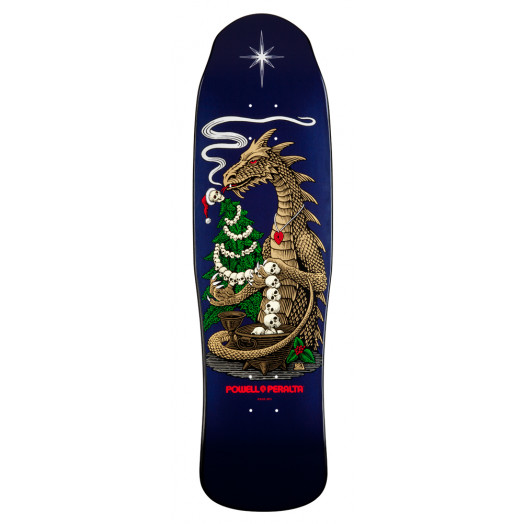 Powell Peralta Christmas 2011 Tree Trimmer Skateboard Deck - 9.125 x 32.5
