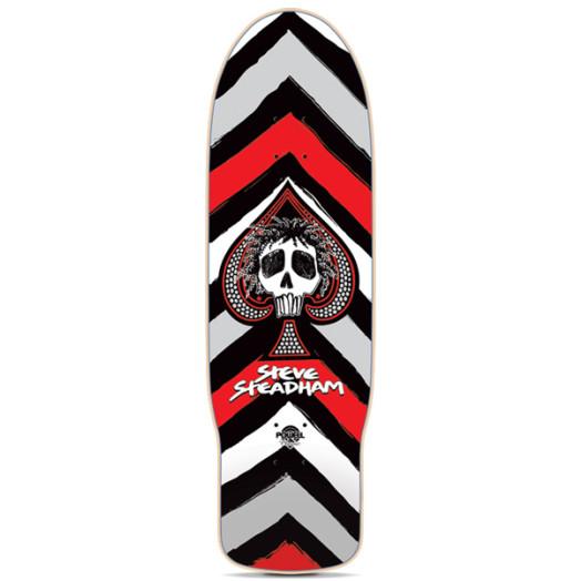 Powell Classic Steve Steadham Spade Skateboard Deck - 10 x 30.125