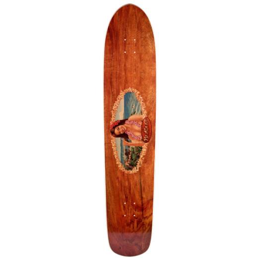 Surf One No Ka Oi Skateboard Deck - 9.25 x 43.75