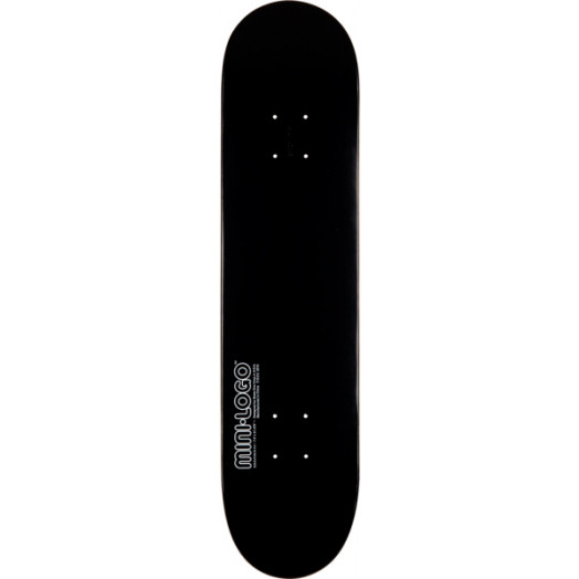 Mini Logo 126 K12 Deck Black - 7.625 x 31.625