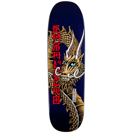 Powell Peralta Pro Caballero Ban This Dragon Skateboard Deck - 9.265 x 32