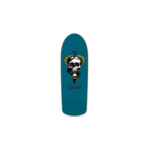 Powell Peralta Mike McGill Skull and Snake Reissue Complete Skateboard Blue - 10 x 30.125