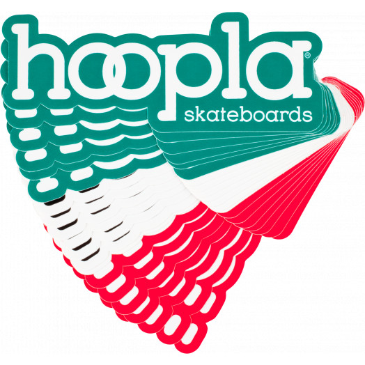 hoopla #4 sticker 20pk