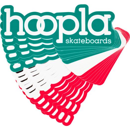hoopla #4 sticker 20pk