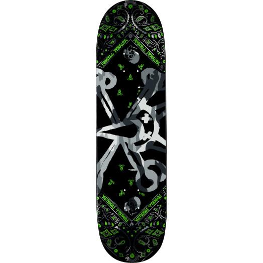 Powell Peralta Vato Rat Band Grey Skateboard Deck 7.625 X 31.625