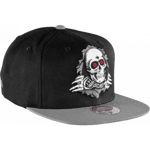 Powell Peralta Ripper Mitchell & Ness Cap - Black/Gray