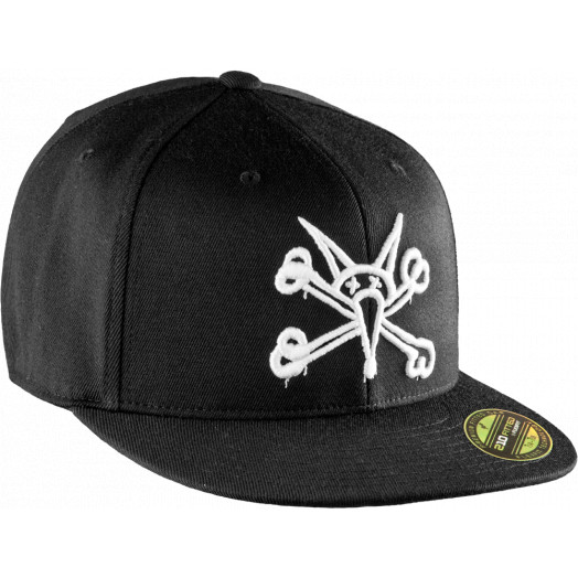 Powell Peralta Vato Rat Flex-Fit Cap - Black