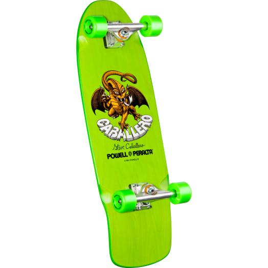 Bones Brigade® Steve Caballero Dragon Complete Skateboard Green - 10 x 29.75