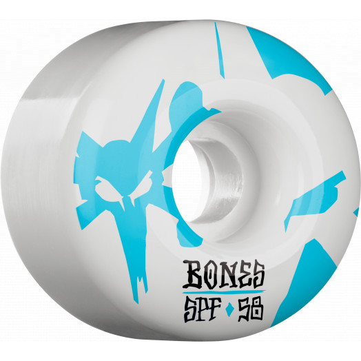 BONES WHEELS SPF Reflections Skateboard Wheel P2 58mm 84B 4pk