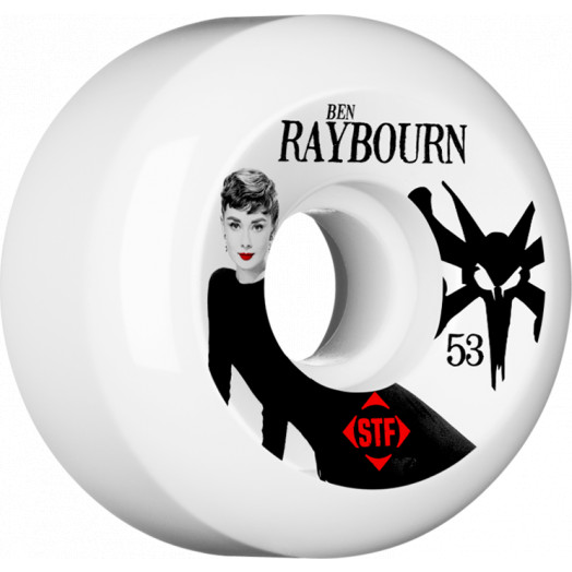 BONES WHEELS STF Pro Raybourn Audrey II 53mm wheels 4pk