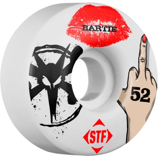 BONES WHEELS STF Pro Bartie Lipstick 52mm wheels 4pk