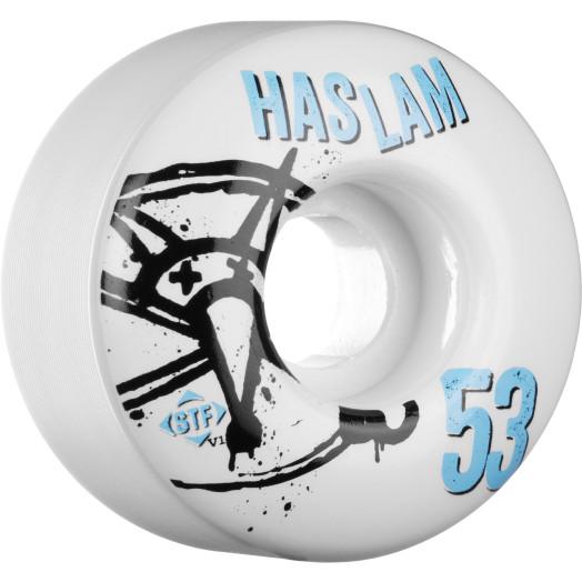 BONES WHEELS STF Pro Haslam Numbers 53mm 4pk