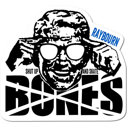 BONES WHEELS Pro Raybourn Sticker single