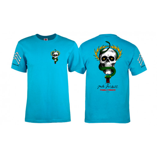 Bones Brigade® McGill Skull & Snake T-shirt - Turquoise