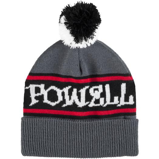 Powell Peralta Pom Beanie - Gray