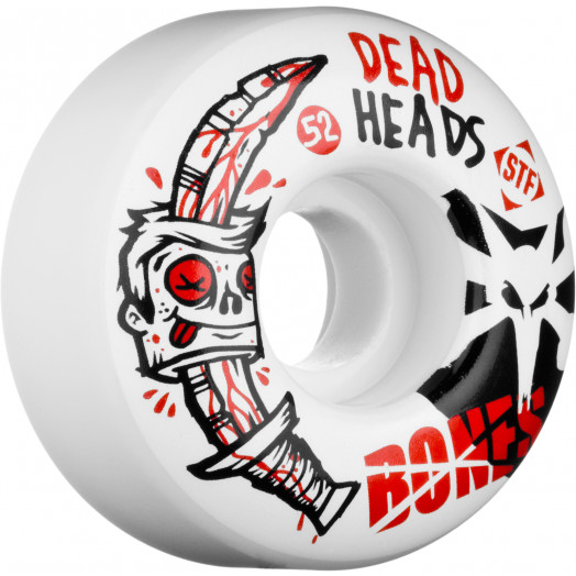 BONES WHEELS STF Dead Heads 52mm (4 pack)