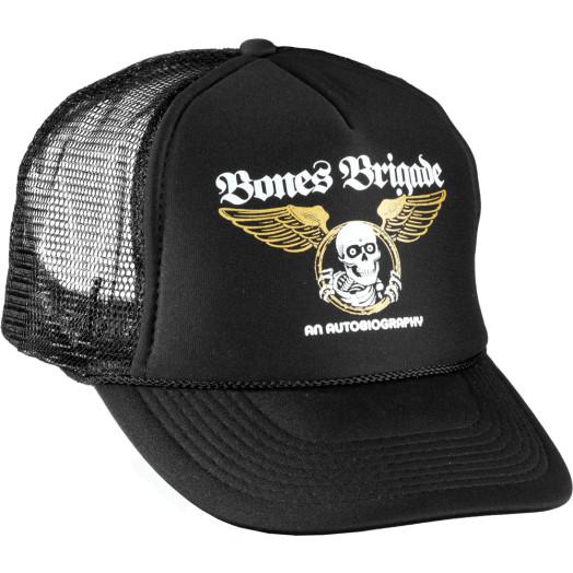 BONES BRIGADE: An Autobiography Mesh Trucker Cap - Black