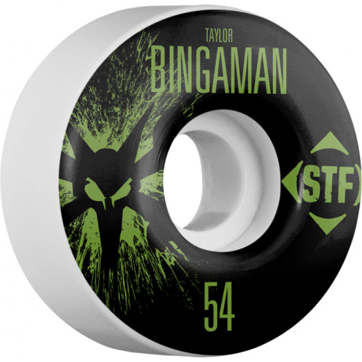 BONES WHEELS STF Pro Bingaman Team Wheel Splat 54mm 4pk