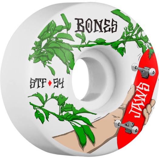 BONES WHEELS STF Pro Homoki Forbidden Skateboard Wheels V1 54mm 103A 4pk