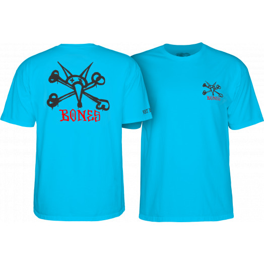 Powell Peralta Rat Bones YOUTH T-shirt - Turqouise