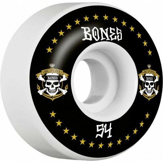 BONES WHEELS STF Pro Bufoni Live 2 Ride Skateboard Wheels V1 Standard 54mm 103A 4pk