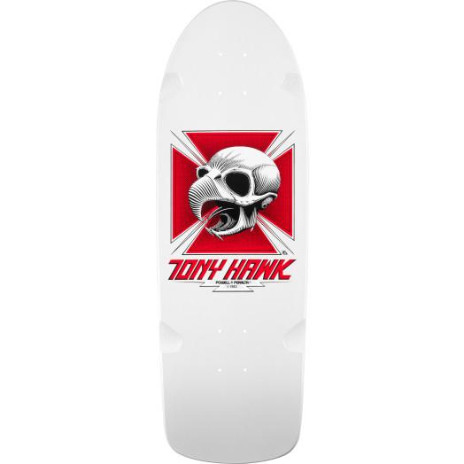 Bones Brigade® Tony Hawk Skull Reissue Deck White - 10 x 30.05