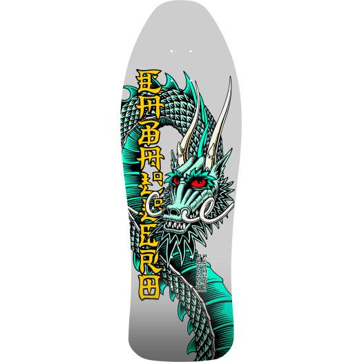 Bones Brigade® Steve Caballero 12th Series Reissue Skateboard Deck Silver- 10.47 x 30.94
