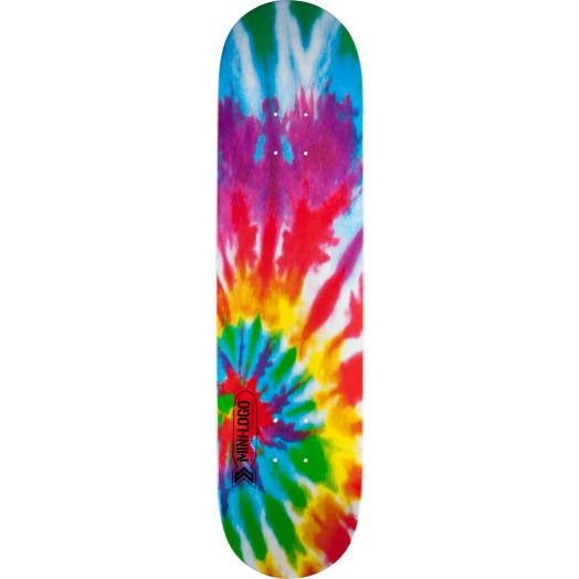 Mini Logo Small Bomb Skateboard Deck 126 Tie Dye - 7.625 x 31.625