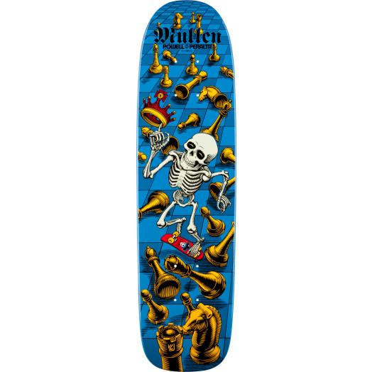Bones Brigade® Rodney Mullen 6th Series Reissue Skateboard Deck Blue - 7.4 x 27.625