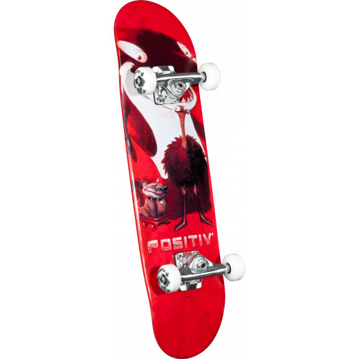 Positiv Team Animal King Complete Skateboard - 7.5 x 28.65