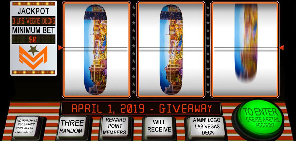 Mini Logo Las Vegas Deck Giveaway