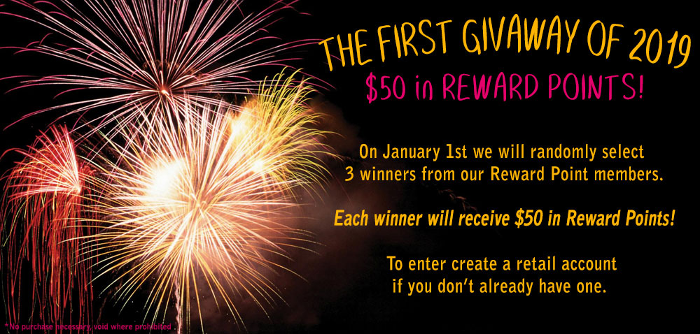 December Reward Points Giveaway
