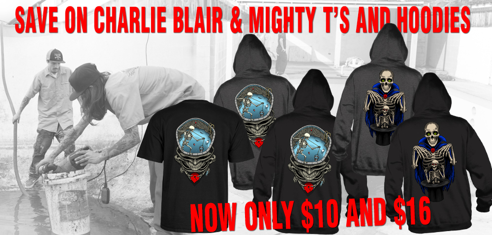 Charlie Blair & Mighty T's and Hoodies
