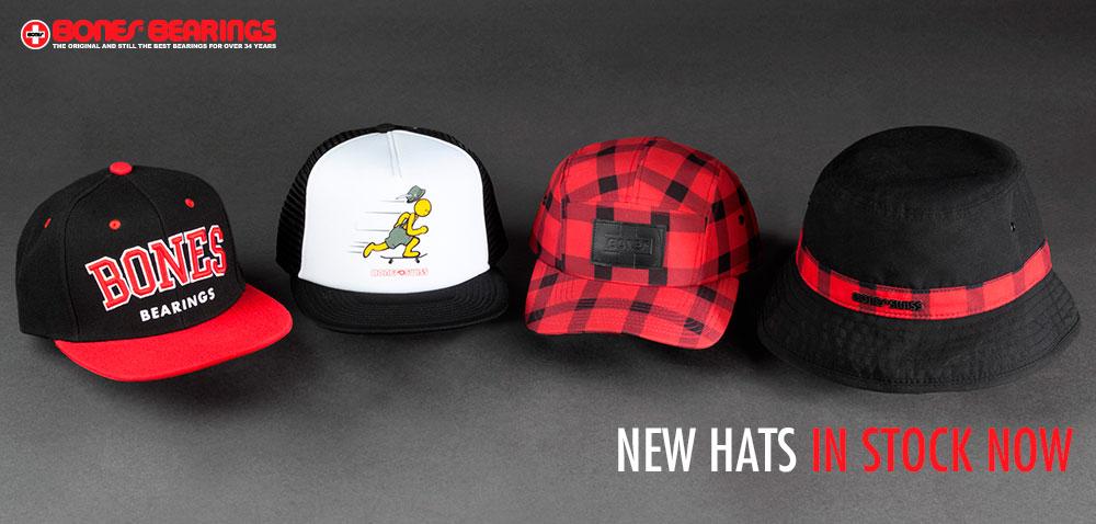 New Hats from Bones Bearings