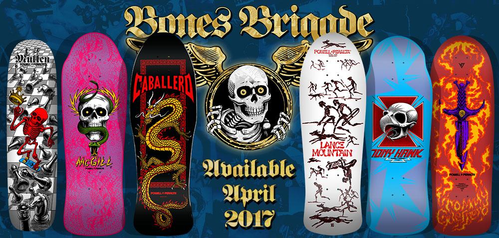 9th Series Bones Brigade Reissue Decks