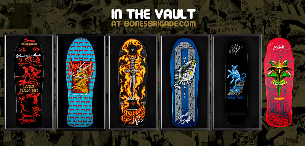 Signed Bones Brigade Decks In Shadow Boxes