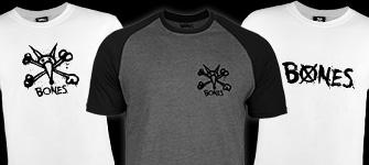 BONES WHEELS T-Shirts