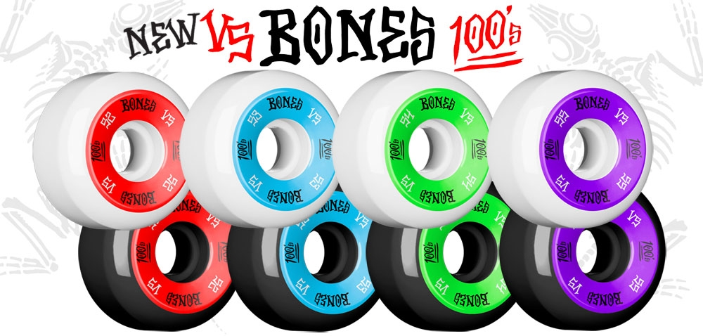 New BONES WHEELS V5 100s