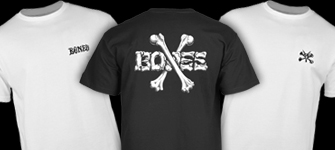 BONES WHEELS T-Shirts