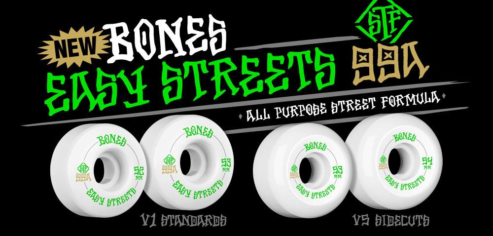 BONES WHEELS Easy Streets
