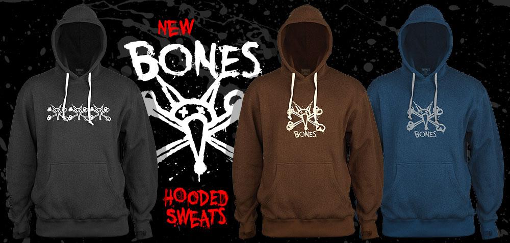 New Bones Wheels Sweatshirts